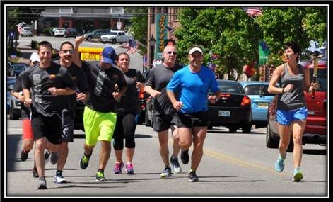 Town of Kennebunk representatives running for Special Olympics Maine